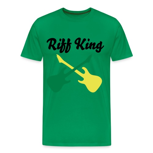 Riff King - Moss - Men's Premium T-Shirt