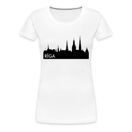 Riga Girls-Shirt - Women's Premium T-Shirt