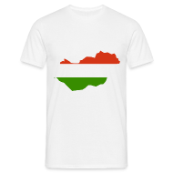 T-shirts ~ Mannen T-shirt ~ Hongarije