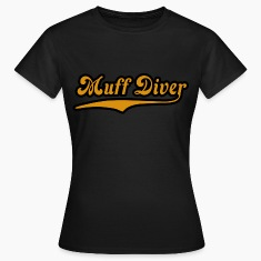 Noble brown muff_diver Women's T-Shirts