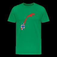 T-shirts ~ Mannen Premium T-shirt ~ Noorwegen