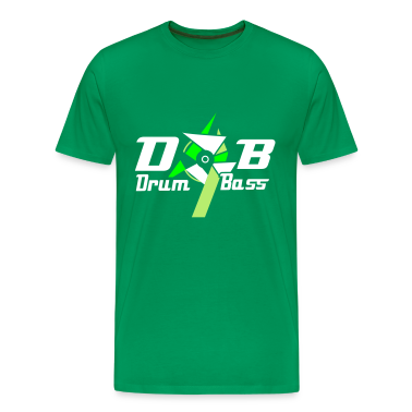 Bottlegreen D'n'b -  drum 'n' Bass Logo Men's T-Shirts