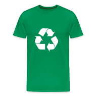 T-shirts ~ Mannen Premium T-shirt ~ Leonards Recycle Shirt (S02E14)