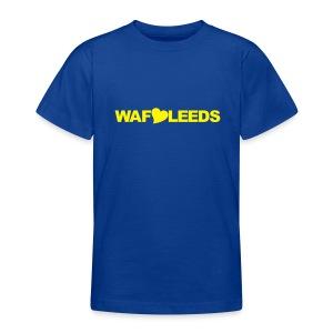 WAFLLEEDS - OLD LEEDS CHANT ACRONYM - Teenage T-shirt