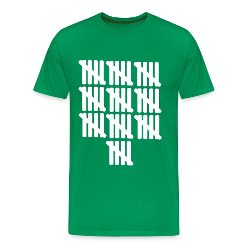 50 strike-off - Men's Premium T-Shirt