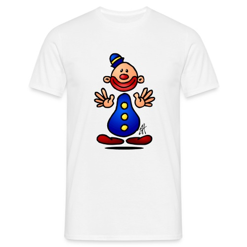 clown - Mannen T-shirt