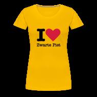 T-shirts ~ Vrouwen Premium T-shirt ~ I Love Zwarte Piet