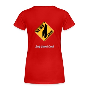 I love surfing for girls - Frauen Premium T-Shirt