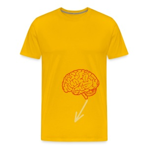 Brain in my pant - T-shirt Premium Homme