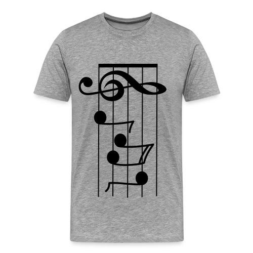 Pentagrama - Camiseta premium hombre
