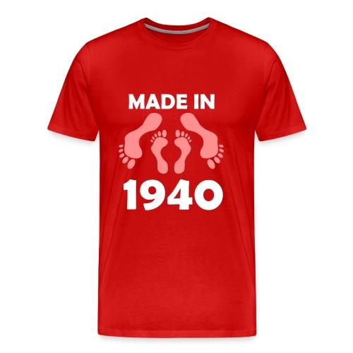 Made in 1940 - Men's Premium T-Shirt