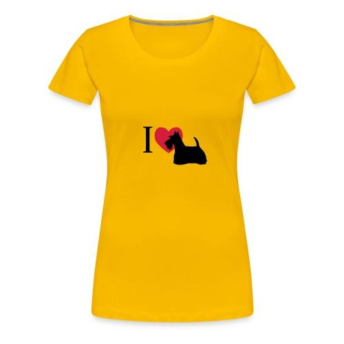 Scotch Terrier - Frauen Premium T-Shirt