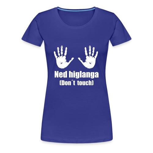 Ned higlanga - Frauen Premium T-Shirt