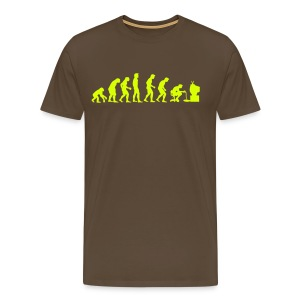 Gamer evolution - Men's Premium T-Shirt