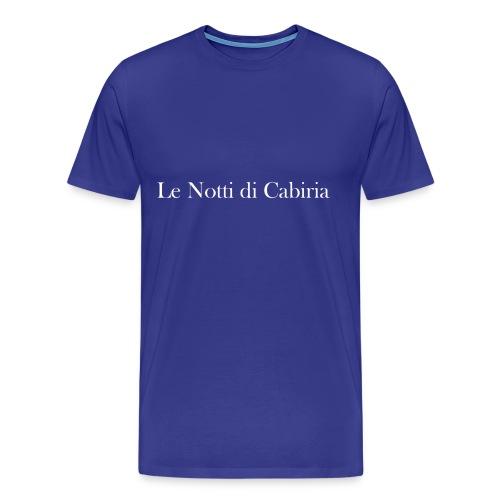 Federico Fellini - Nights of Cabiria - Men's Premium T-Shirt
