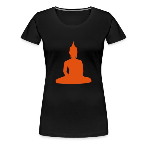 Buddha des grenzenlosen Lebens - Frauen Premium T-Shirt