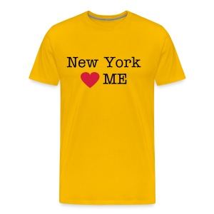 New York Loves Me - Mannen Premium T-shirt