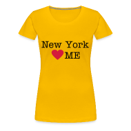 T-shirts ~ Vrouwen Premium T-shirt ~ New York Loves Me