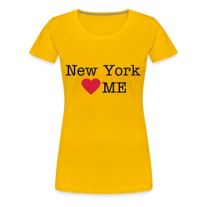 New York Loves Me - Vrouwen Premium T-shirt