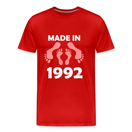 Made in 1992 - Men's Premium T-Shirt