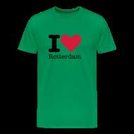 T-shirts ~ Mannen Premium T-shirt ~ I Love Rotterdam