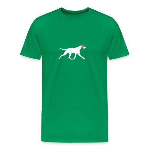 Pointer - Männer Premium T-Shirt