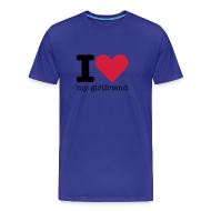 T-shirts ~ Mannen Premium T-shirt ~ I Love my Girlfriend
