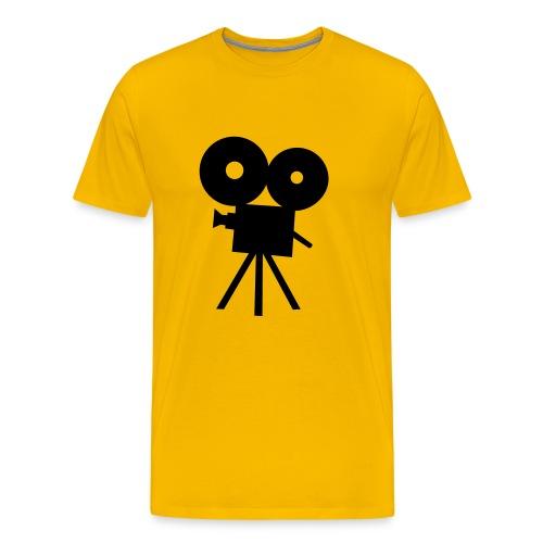 camera - Mannen Premium T-shirt