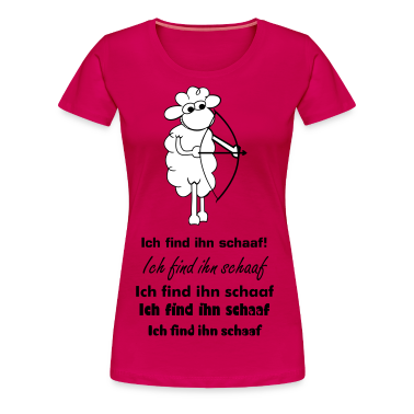 Pink Sheep with bow Women's T-Shirts