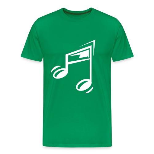 note - Mannen Premium T-shirt