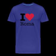 T-shirts ~ Mannen Premium T-shirt ~ I Love Roma