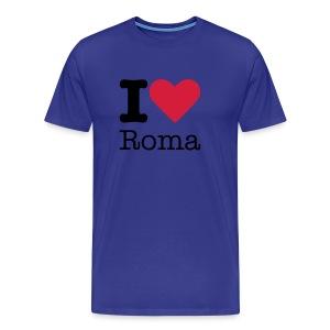 I Love Roma - Mannen Premium T-shirt
