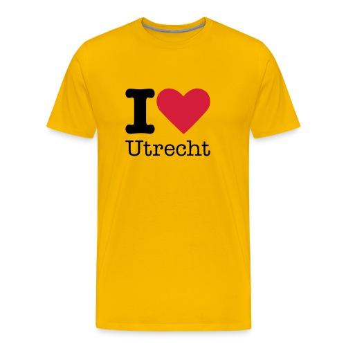 I Love Utrecht - Mannen Premium T-shirt