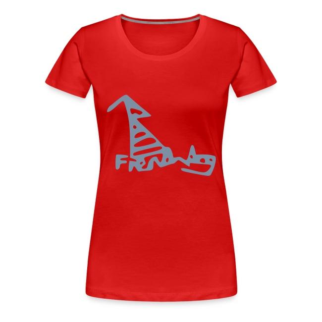 French Dog Women's Girlie Shirt