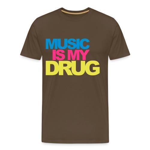 Drug - Männer Premium T-Shirt
