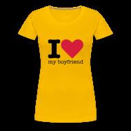 T-shirts ~ Vrouwen Premium T-shirt ~ I Love my Boyfriend
