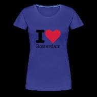 T-shirts ~ Vrouwen Premium T-shirt ~ I Love Rotterdam