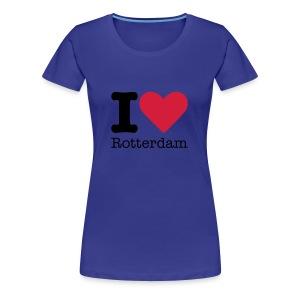 I Love Rotterdam - Vrouwen Premium T-shirt