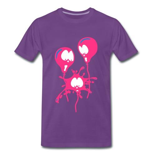 Baloons - Mannen Premium T-shirt