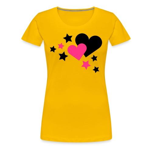Star and Love - Frauen Premium T-Shirt