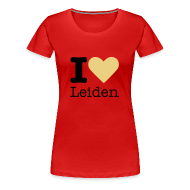T-shirts ~ Vrouwen Premium T-shirt ~ I Love Leiden