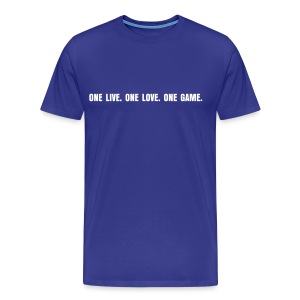 One Love... Football - Männer Premium T-Shirt