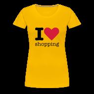 T-shirts ~ Vrouwen Premium T-shirt ~ I Love Shopping