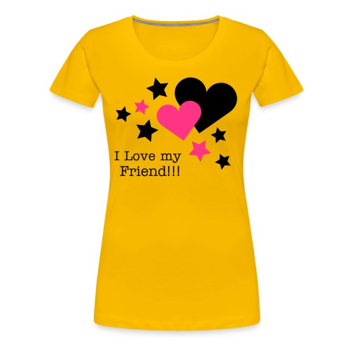 Star and Love - Frauen Premium T-Shirt