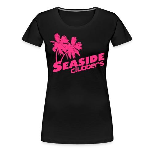 Girl Logo Seaside - Frauen Premium T-Shirt
