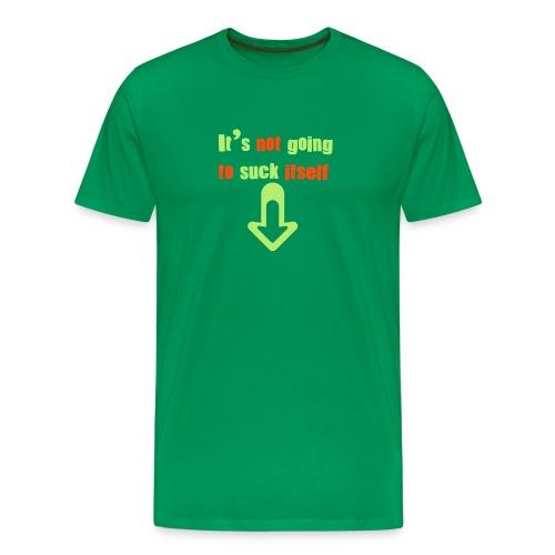 Bicyclemania Suck it - Men's Premium T-Shirt