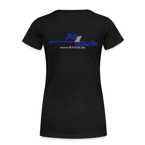 R1club-Girlieshirt mit persönlichem Namen - Frauen Premium T-Shirt