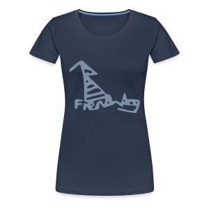 French Dog Women's Plus Size Shirt - Women's Premium T-Shirt