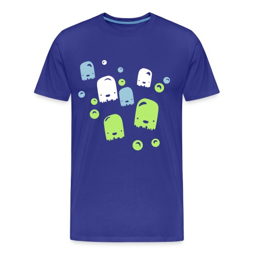 Bubble monstars  - Mannen Premium T-shirt