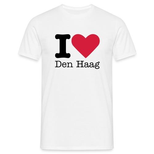I Love Den Haag - Mannen T-shirt